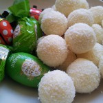 coconut pralines and other sweets